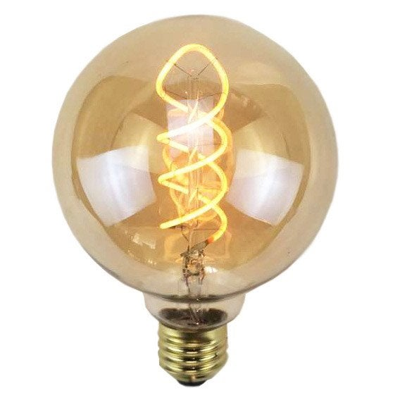 Ampoule Filament Led Globe 95mm E27 4w 240lm Equiv 35w 2200k