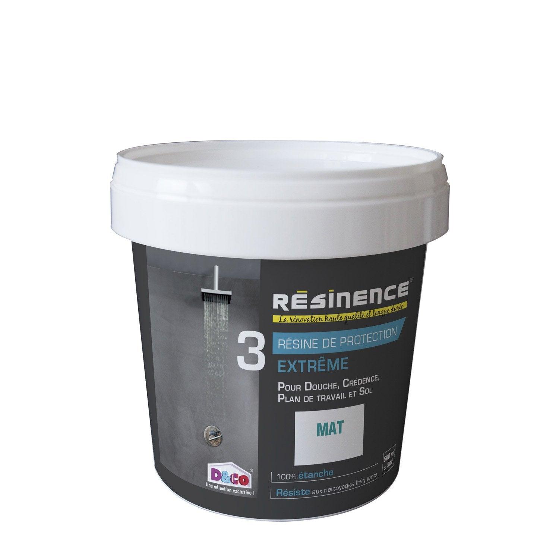 R sine de finition protecteur resinence incolore 0 5 l leroy merlin - Resine carrelage cuisine ...