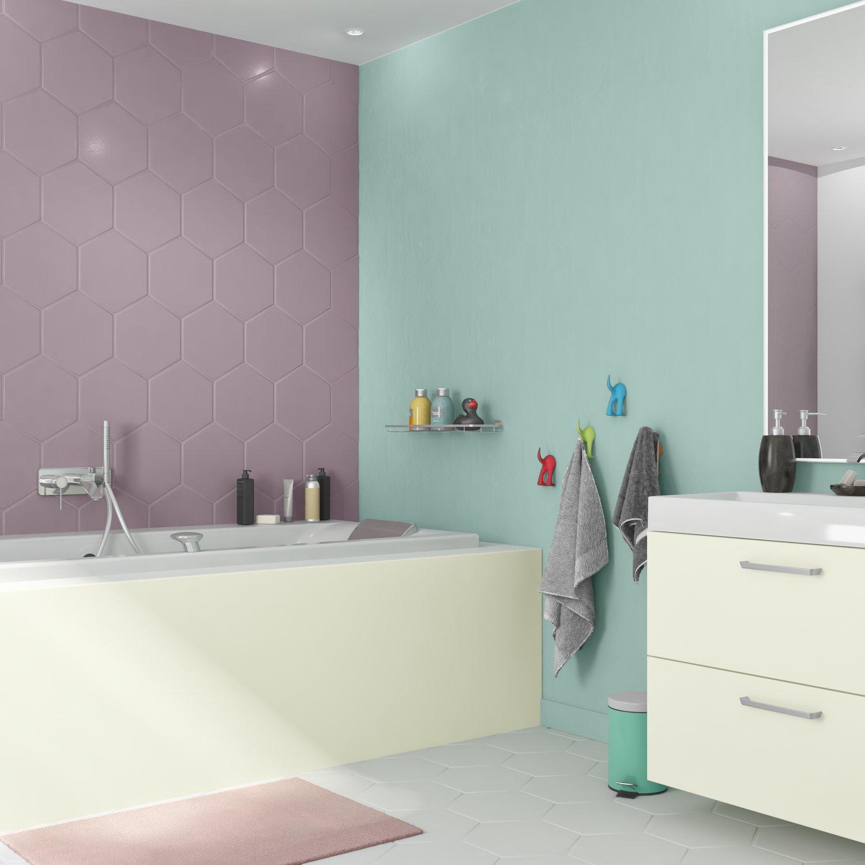 De la couleur dans la salle de bains | Leroy Merlin