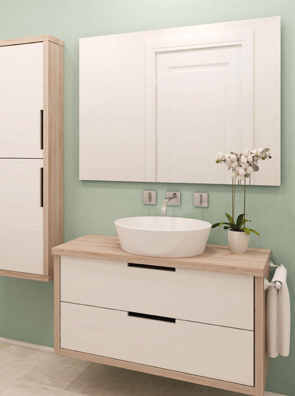 Le gris sur les murs de la salle de bains | Leroy Merlin
