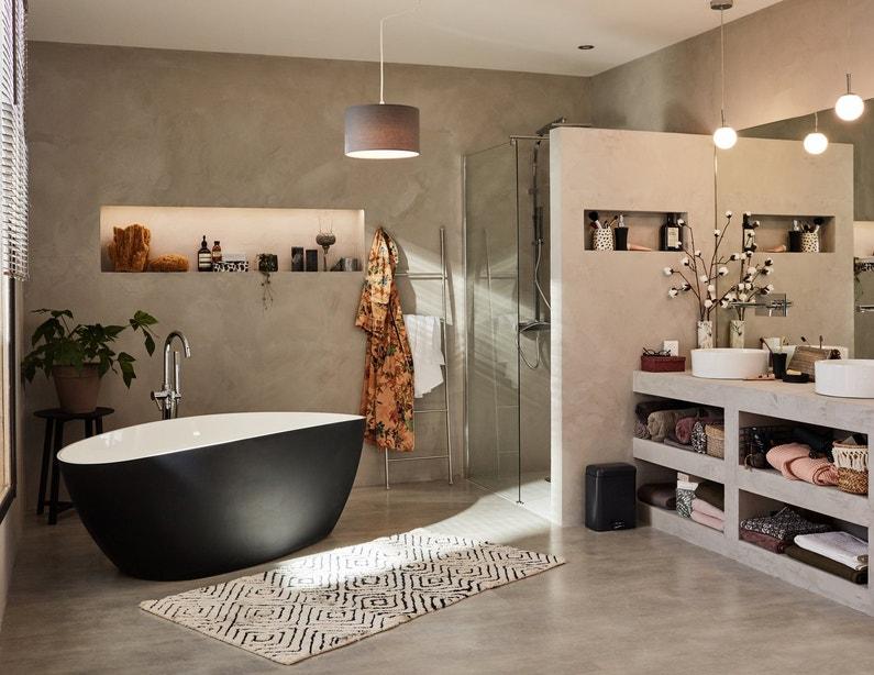 Esprit zen pour la salle de bains | Leroy Merlin