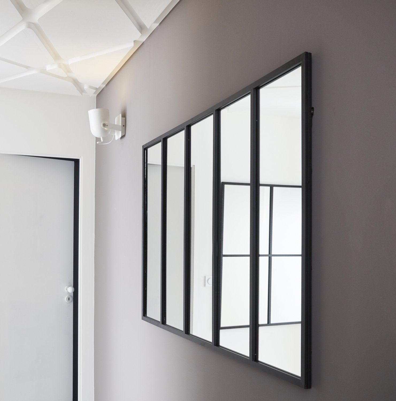 un grand miroir pour cr er une sensation d 39 espace dans votre int rieur leroy merlin. Black Bedroom Furniture Sets. Home Design Ideas