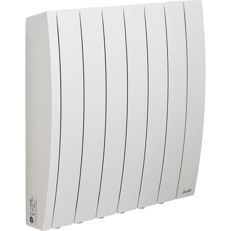Radiateur électrique à Inertie Fluide Sauter Bachata 1000 W