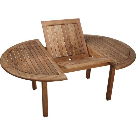 Table De Jardin Ronde Robin Naterial