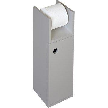 Meuble coffrage et rangement wc wc abattant et lave for Meuble pour wc