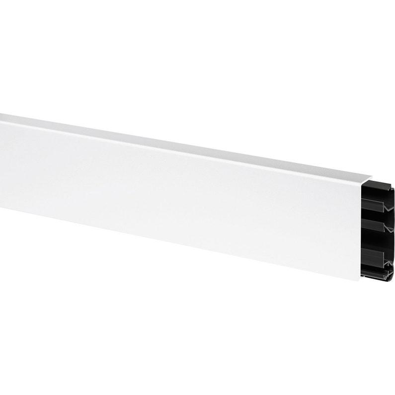 Plinthe Blanc H 11 5 X P 2 Cm