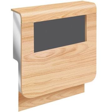 plinthe bois plastique moulure goulotte et plinthe au meilleur prix leroy merlin. Black Bedroom Furniture Sets. Home Design Ideas