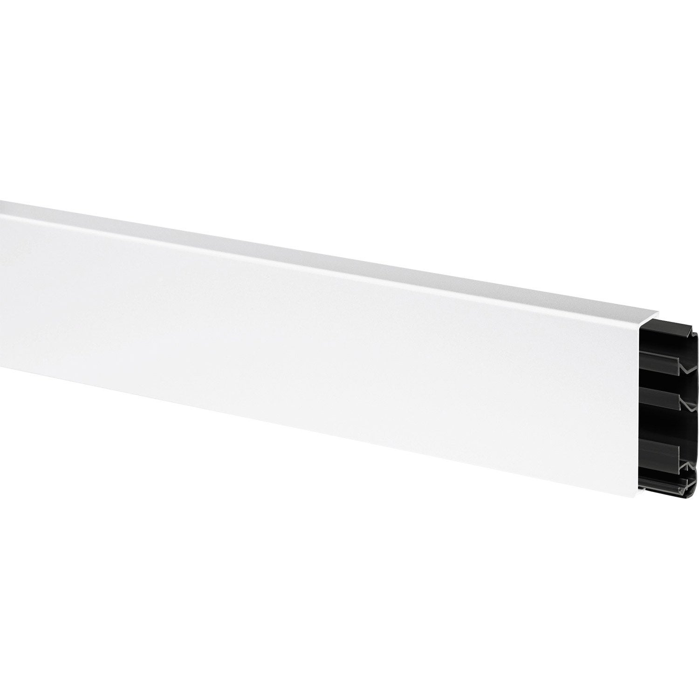 plinthe h 8 x p 2 cm blanc leroy merlin. Black Bedroom Furniture Sets. Home Design Ideas