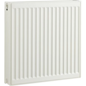 Radiateur chauffage central blanc, l.60 cm, 1027 W