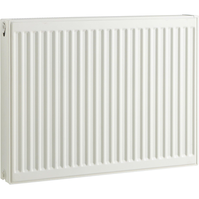 Radiateur chauffage central blanc cm 1370 w leroy for Quel puissance de radiateur