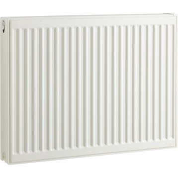 Radiateur chauffage central blanc, l.80 cm, 1370 W