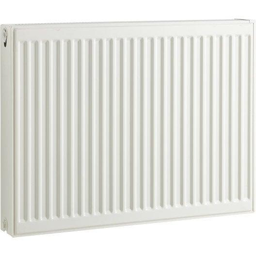 radiateur chauffage central blanc cm 1370 w leroy merlin. Black Bedroom Furniture Sets. Home Design Ideas