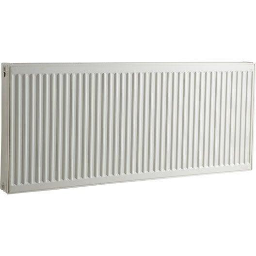 radiateur chauffage central blanc cm 1712 w leroy merlin. Black Bedroom Furniture Sets. Home Design Ideas