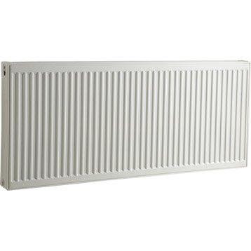 Radiateur chauffage central blanc, l.100 cm, 1712 W