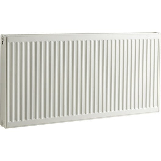 radiateur chauffage central acier airfel 2054w leroy merlin. Black Bedroom Furniture Sets. Home Design Ideas