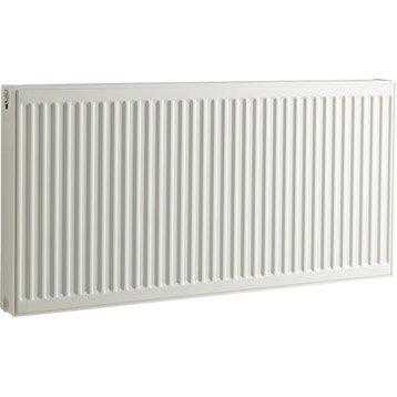 Radiateur chauffage central blanc, l.120 cm, 2054 W