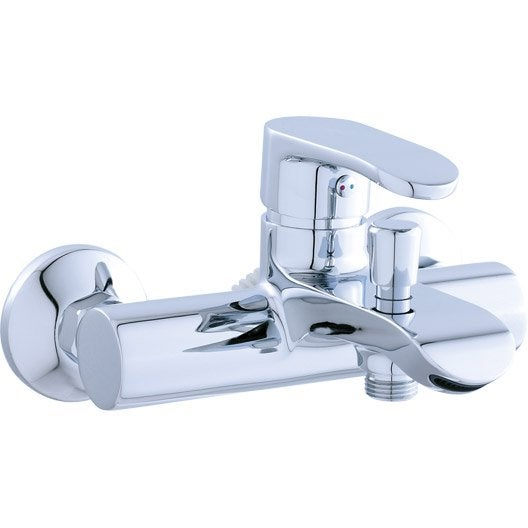 Robinet de baignoire robinet de salle de bains leroy - Robinet salle de bain leroy merlin ...