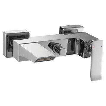 Mitigeur mécanique de baignoire cascade chromé brillant Mode