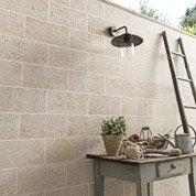 Plaquette de parement pierre naturelle beige Beaulieu