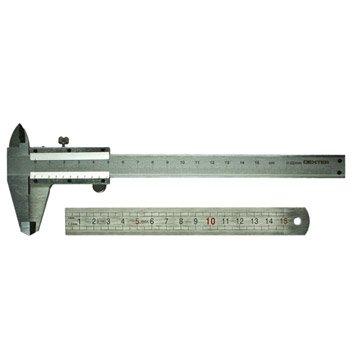 Pied à coulisse manuel DEXTER, 15 cm
