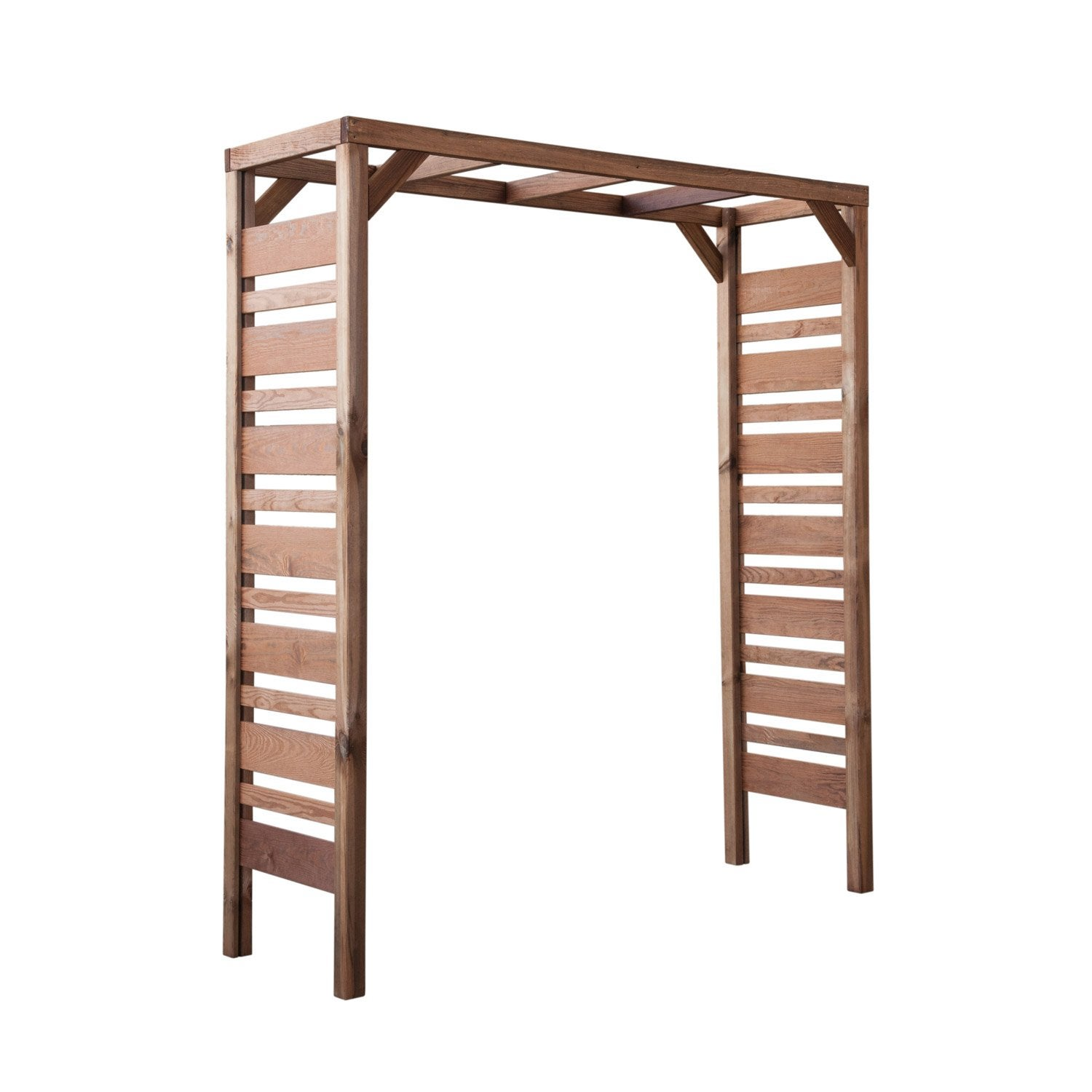pergola double pergola moderne x x cm leroy merlin. Black Bedroom Furniture Sets. Home Design Ideas