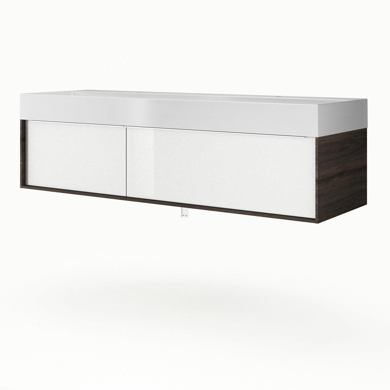 Azzura Meuble Salle De Bain ~ meuble double vasque 150 dimension meuble double vasque charmant