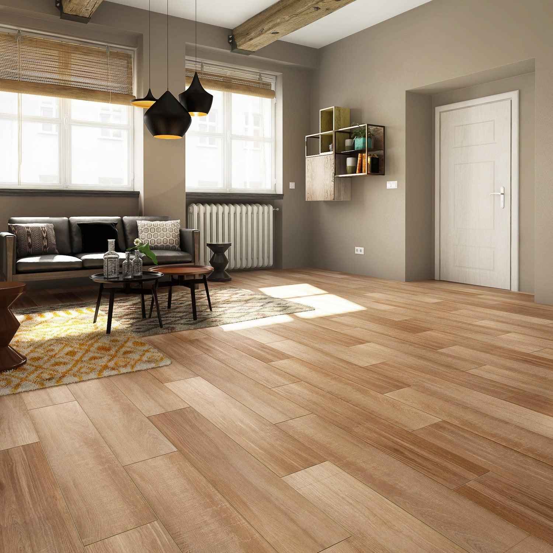 carrelage sol et mur naturel effet bois terk x. Black Bedroom Furniture Sets. Home Design Ideas