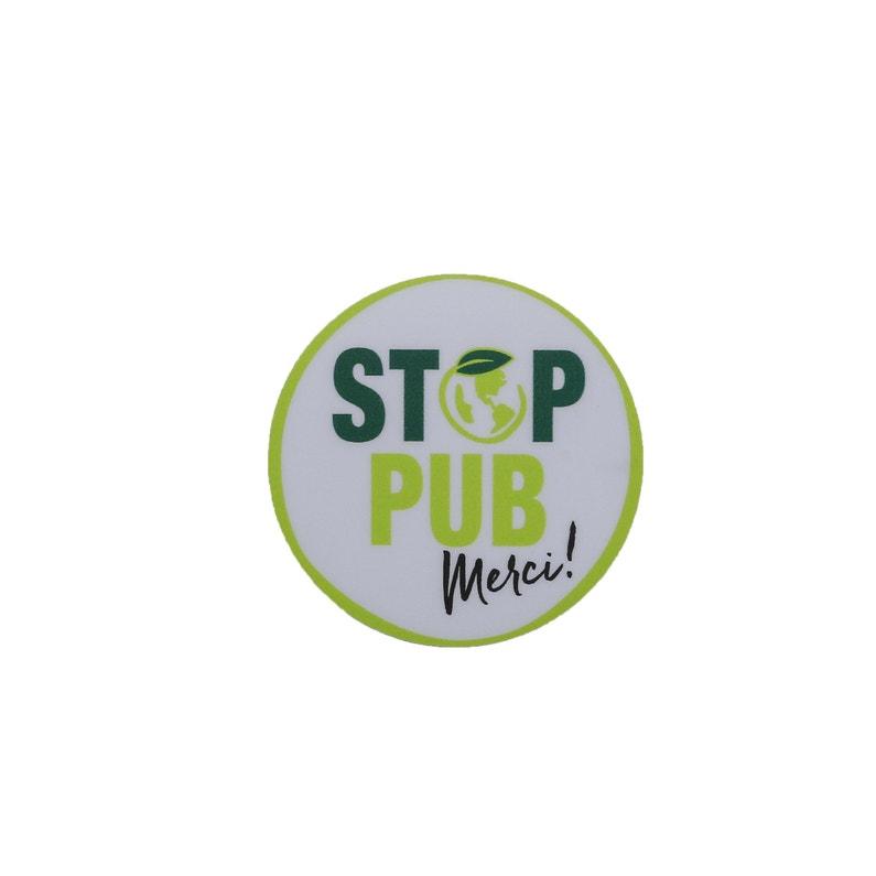 Sticker Stop Publicité H5 X L5 X P0 Cm Renz