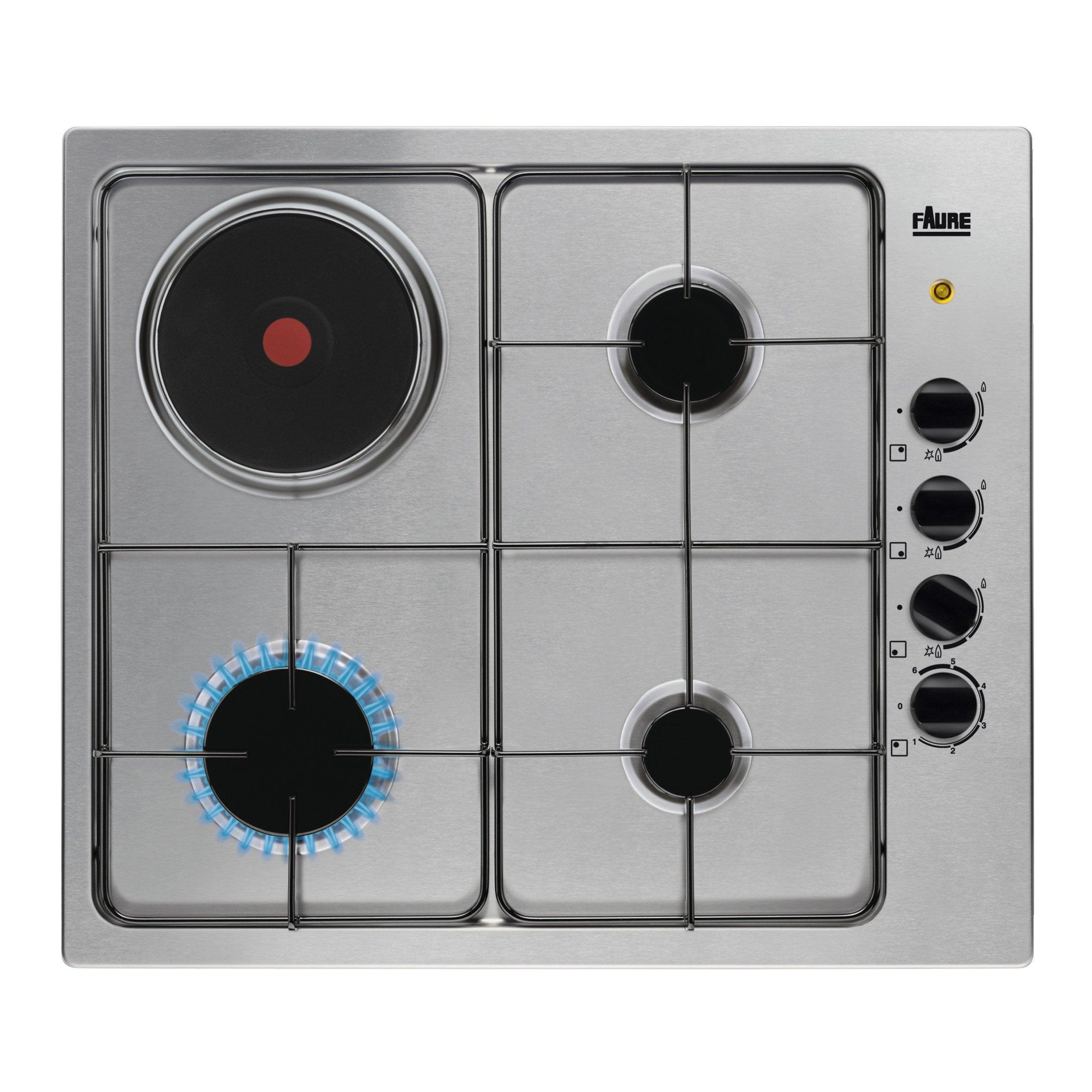 Comparatif Plaque Mixte Induction Gaz plaque de cuisson mixte 4, faure fgm64300x
