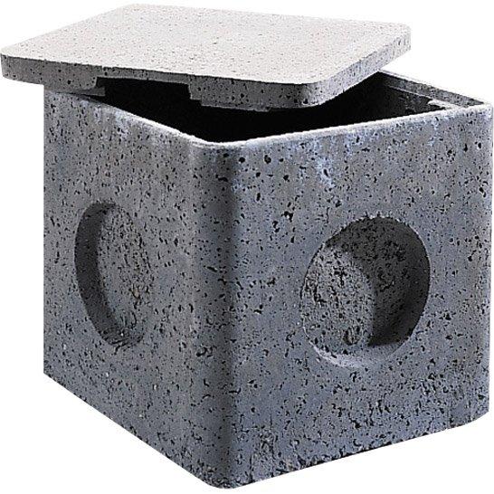 Couvercle Béton Gris Legouez L36 X L36 Cm