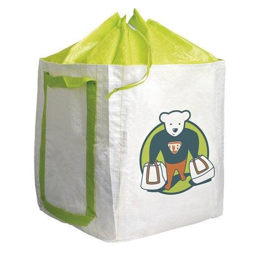 sac de jardin ind chirable teddy bag capacit 180 l. Black Bedroom Furniture Sets. Home Design Ideas
