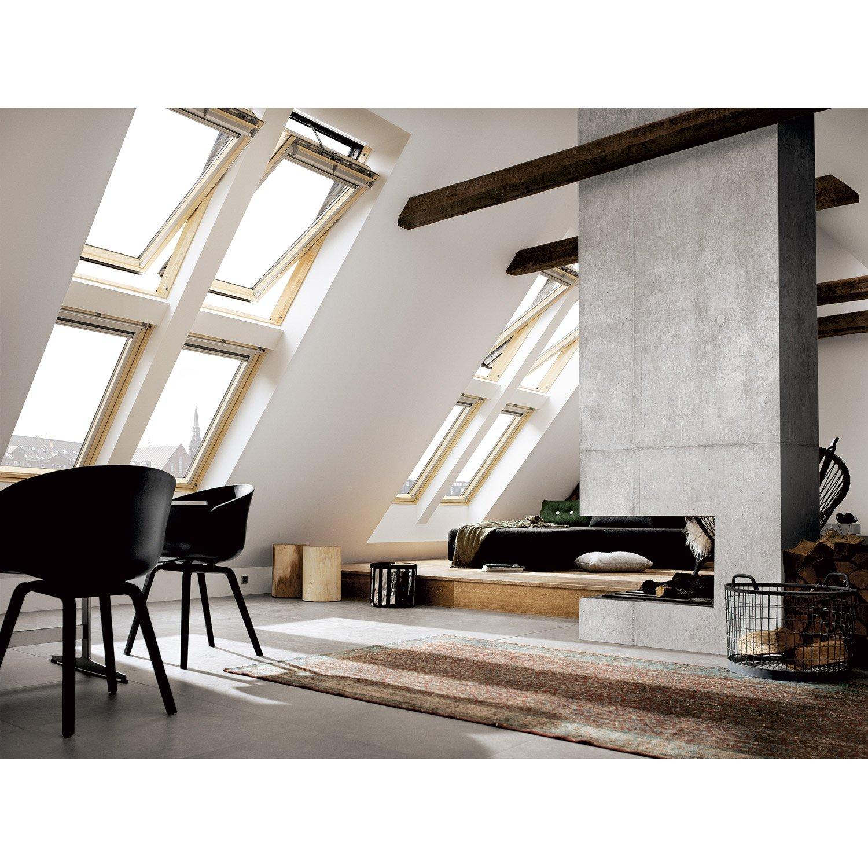 Velux Ggu Salle De Bain ~ velux ggl sk08 tout confort integra par rotation l 114 x h 140 cm