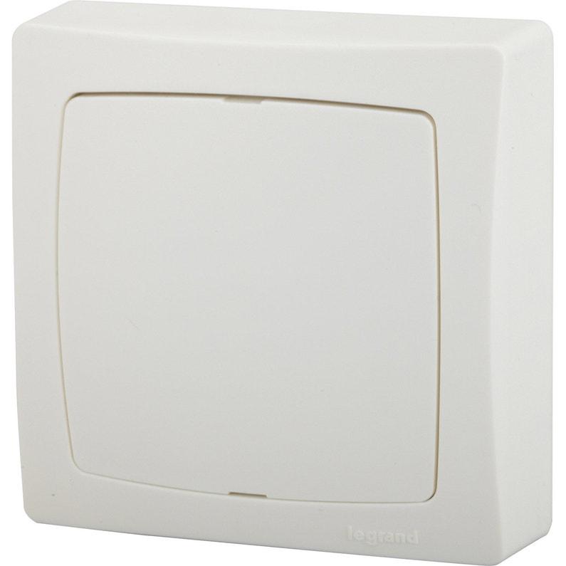 Boîte De Dérivation Saillie Legrand Asl Blanc