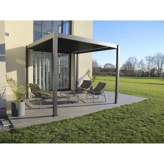 Pergola tonnelle pergola et toiture de terrasse leroy for Tonnelle de jardin leroy merlin
