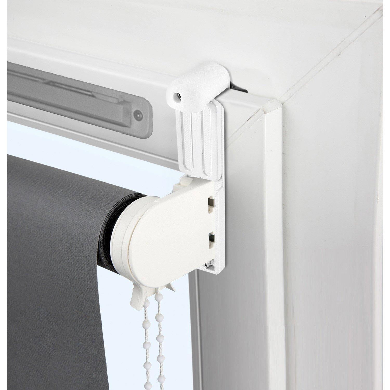 Kit De 2 Supports Avec Joint Et Extension Blanc Pour Tout Type De