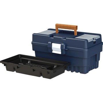 Rangement d 39 outils bo te servante roulante - Boite rangement leroy merlin ...