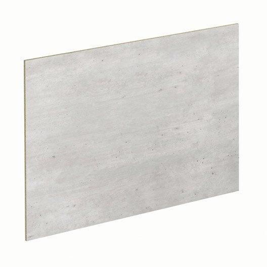 lot de 2 panneaux béton / sable spaceo | leroy merlin