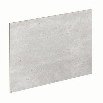 Lot de 2 panneaux Béton / sable SPACEO l.96.9 x H.61.4 cm
