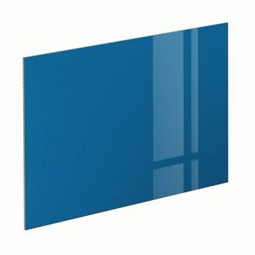 Panneau Glossy bleu SPACEO l.96.9 x H.61.4 cm