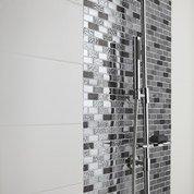 Faïence mur blanc blanc n°0, Loft brillant l.20 x L.50.2 cm