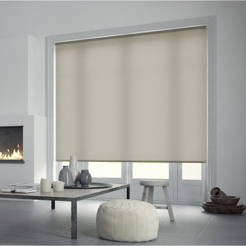 store enrouleur tamisant inspire gris galet n 3 180x250 cm leroy merlin. Black Bedroom Furniture Sets. Home Design Ideas