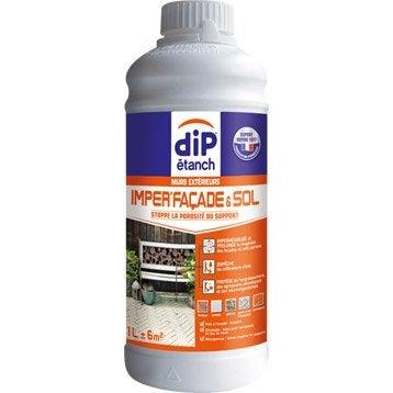 Imperméabilisant façade et sol extérieur, DIP incolore 1 l
