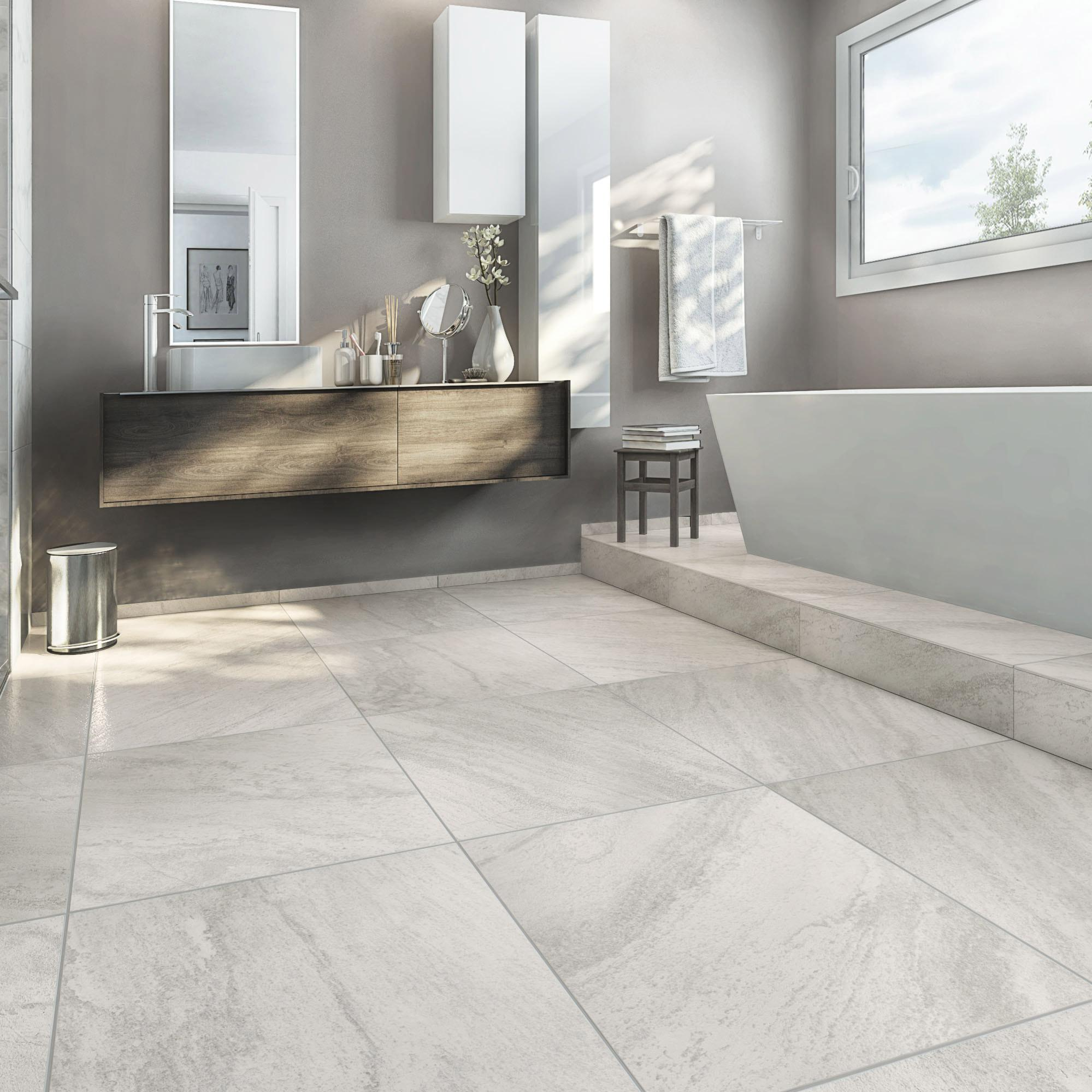 Comment Nettoyer Joint Blanc Carrelage Sol carrelage sol et mur intenso pierre blanc sicile l.60 x l.60 cm grand desir  - su