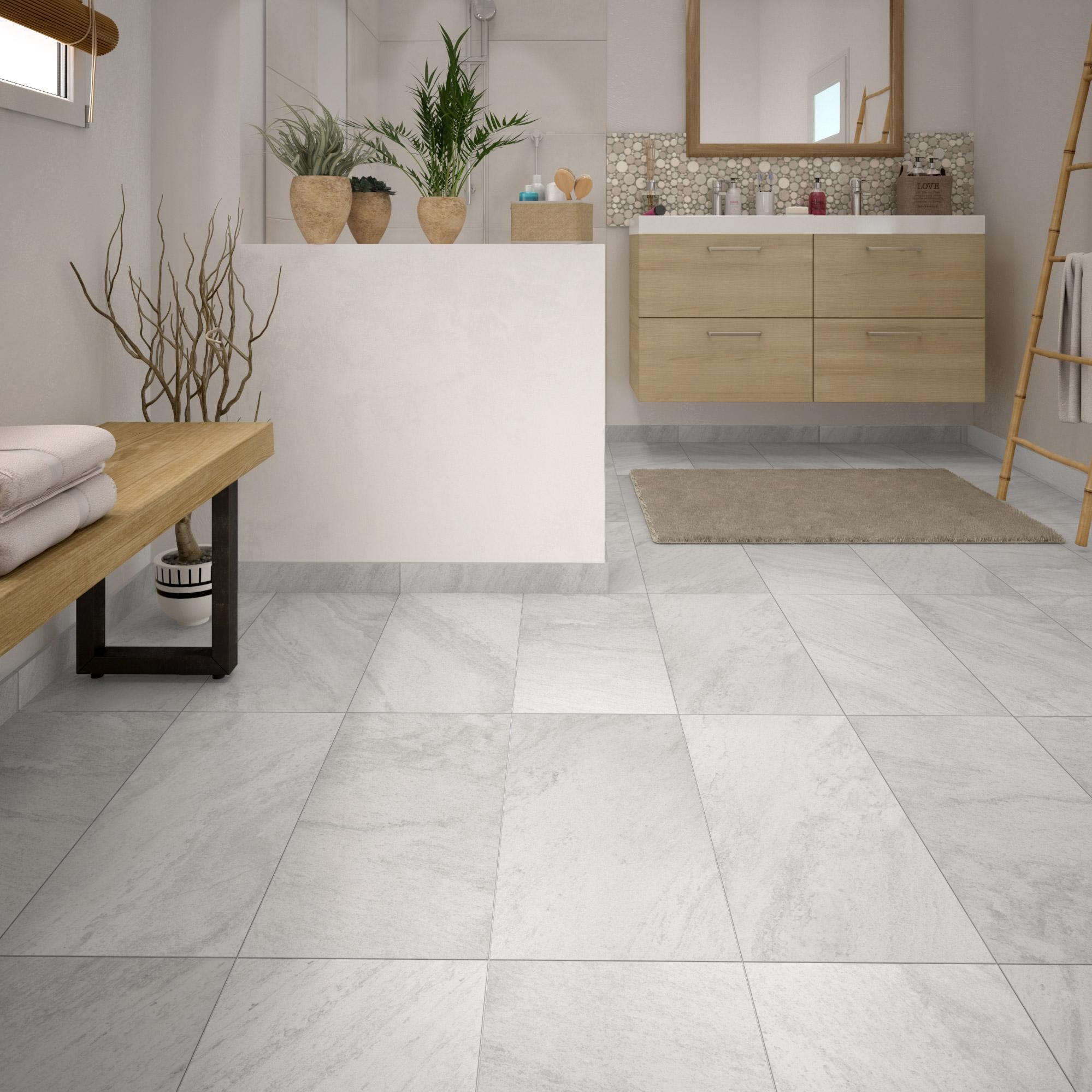 Comment Nettoyer Joint Blanc Carrelage Sol carrelage sol et mur intenso pierre blanc sicile l.30 x l.60 cm grand desir  - su