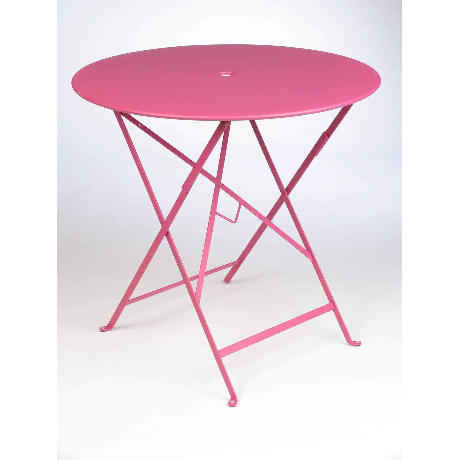 table de jardin fermob bistro ronde fuchsia leroy merlin. Black Bedroom Furniture Sets. Home Design Ideas