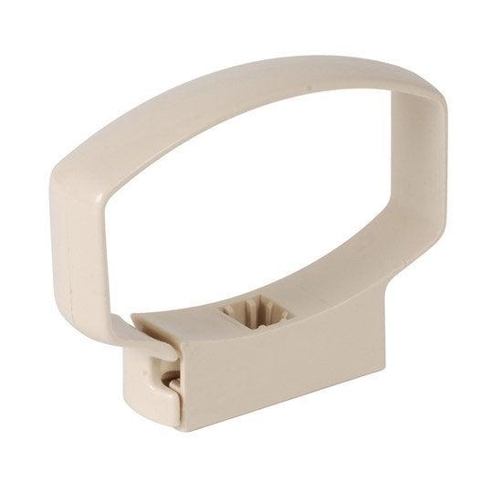 collier de descente pour goutti re ondella beige pvc. Black Bedroom Furniture Sets. Home Design Ideas