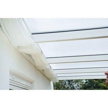 Store polyester blanc l.322 x L.508 cm