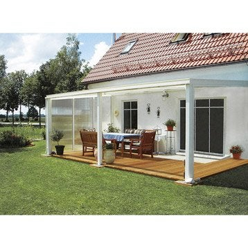 paroi fixe avec fixations pour toit de terrasse tdkw tdow ideanature. Black Bedroom Furniture Sets. Home Design Ideas