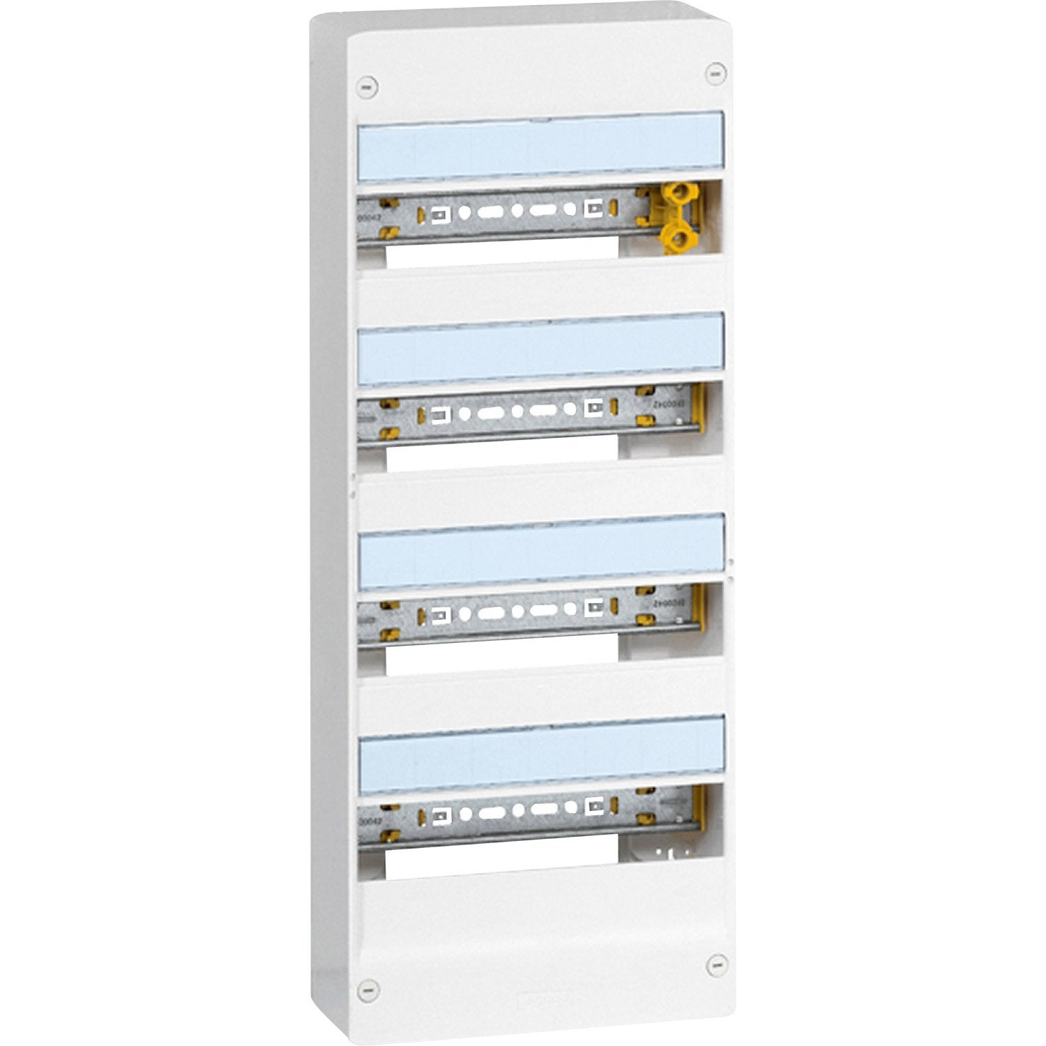 Tableau Electrique Nu Legrand 4 Rangees 52 Modules Leroy Merlin