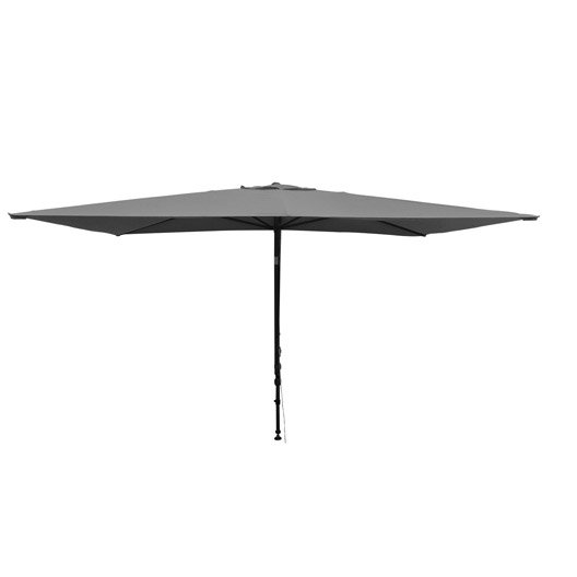 parasol balcon l o gris rectangulaire x cm leroy merlin. Black Bedroom Furniture Sets. Home Design Ideas